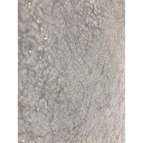 Wallpaper Gray Modern Silver metallic lines Plain Textured Wall coverings rolls