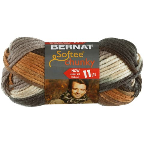 Bernat Softee Chunky Ombre Yarn-Stillness, 161129-29117