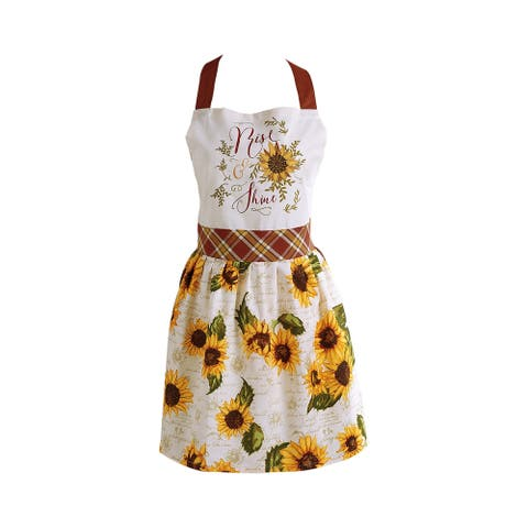 DII Skirted Apron, One Size Fits Most, Rise and Shine, 1 Piece