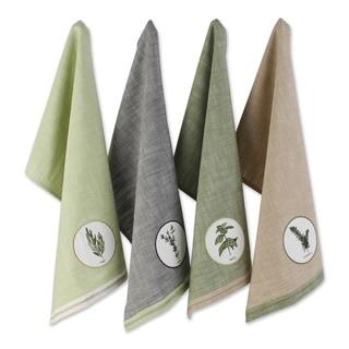 DII Fresh Herbs Textiles, Dishtowels & Dishcloths, Green House, 6 Pc