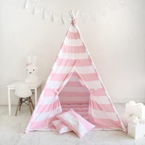 Teepee Tent for Children with Carry Case Indoor & Outdoor Playing