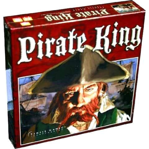 Pirate King Board Game Nautical Adventure, Naval Combat, Treasure Chest, Caribbean Islands