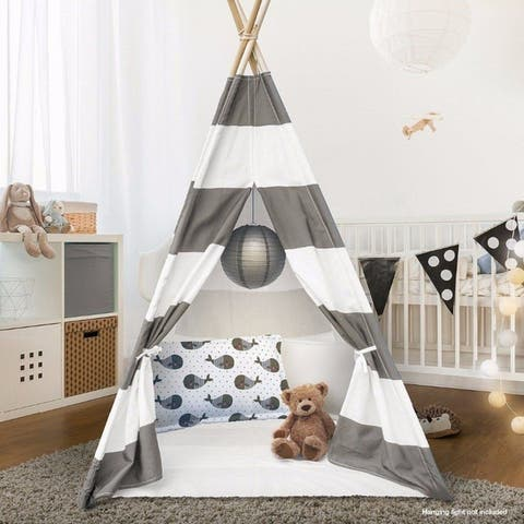 Teepee Tent for Children with Carry Case, Toys for Girls/Boys Indoor & Outdoor Playing - Set of 2 Packs