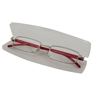 Link to Able Vision Slim Reader Red Unisex Reading Glasses Similar Items in Eyeglasses