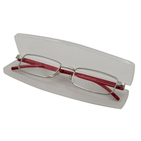 Able Vision Slim Reader Red Unisex Reading Glasses