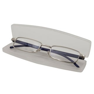 Link to Able Vision Slim Reader Navy Unisex Reading Glasses Similar Items in Eyeglasses