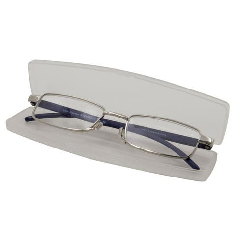 Able Vision Slim Reader Navy Unisex Reading Glasses