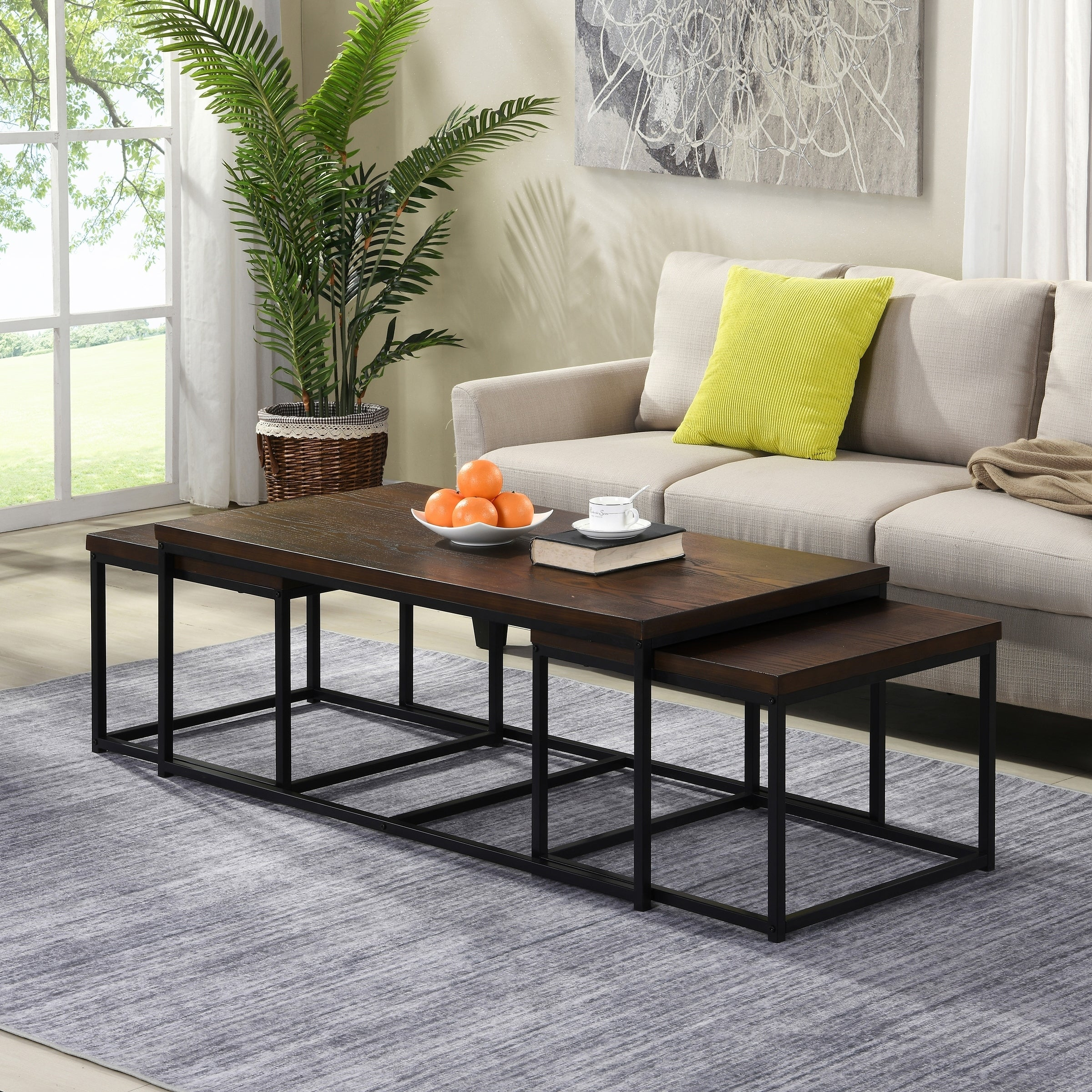 Shop For Carbon Loft Demchak Black 3 Piece Coffee Table And Side Table Set Get Free Shipping On Everything At Overstock Your Online Furniture Outlet Store Get 5 In Rewards With Club O 30542987