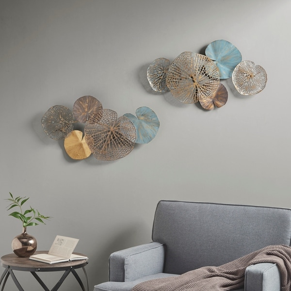 Madison Park Lenzie Multi Wall Decor Set of 2