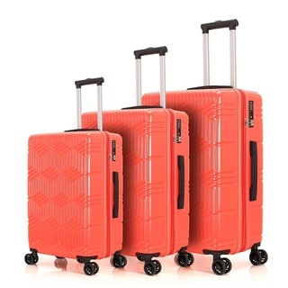 Merax 3PC Luggage Set Hard-side Lightweight with Expandable