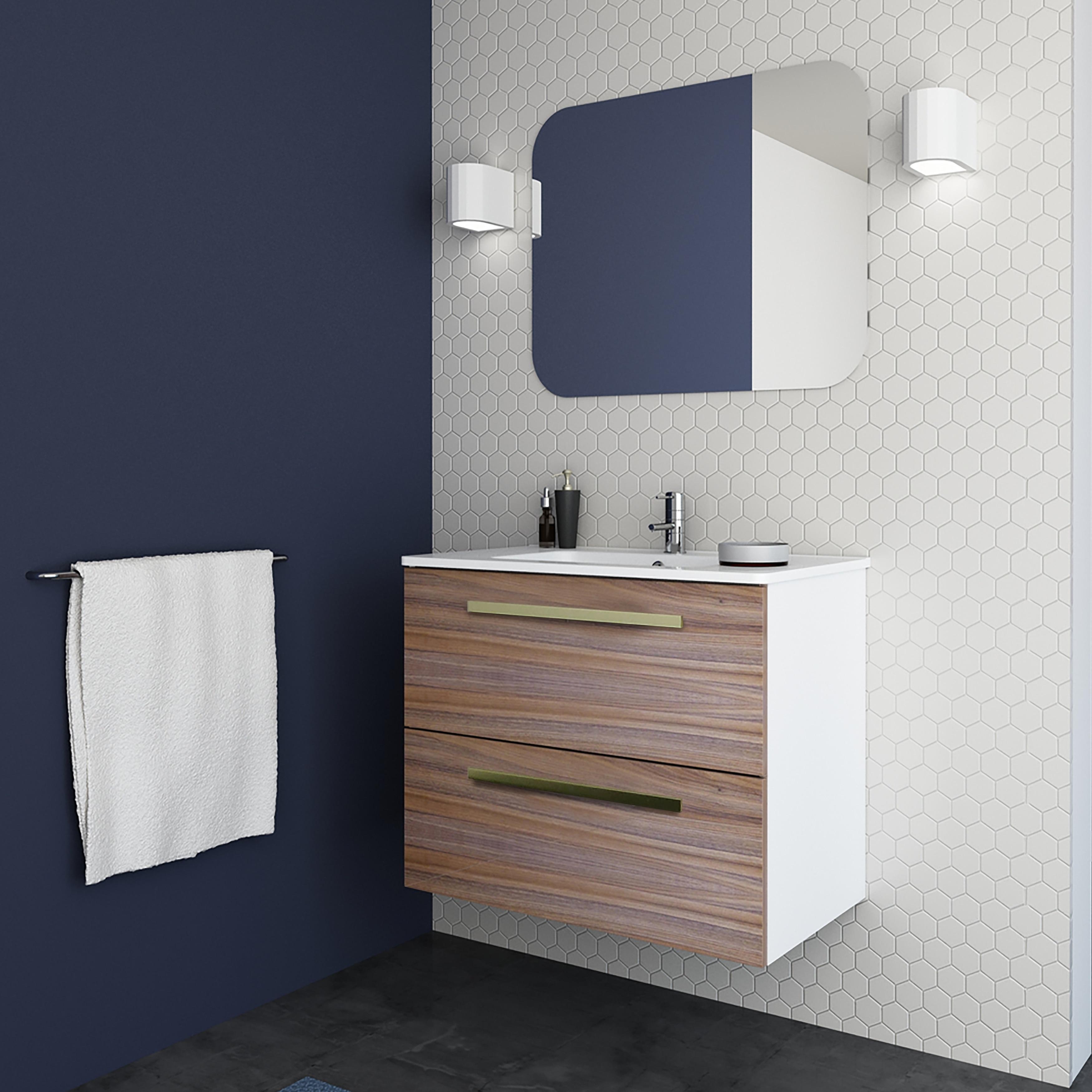 Maine Modern Bathroom Vanity Cabinet Set Oak Wood Looking Finish On Sale Overstock 30546831