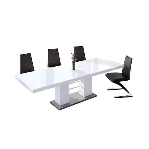 BARBOSA Extendable Dining Table - N/A