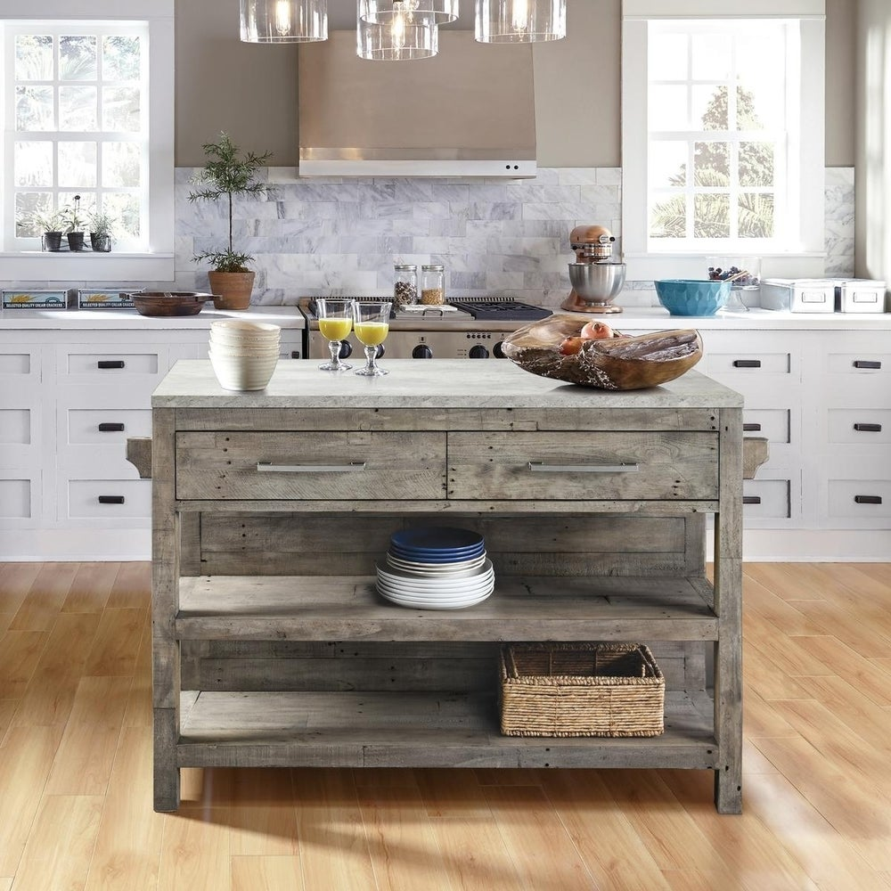 Buy Portable Kitchen Islands Online at Overstock | Our Best ...