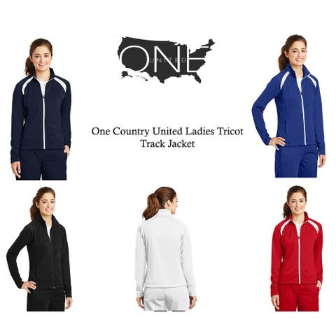 One Country United Ladies Tricot Track Jacket