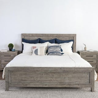 The Gray Barn Wester Cotbank Reclaimed Pine Bed