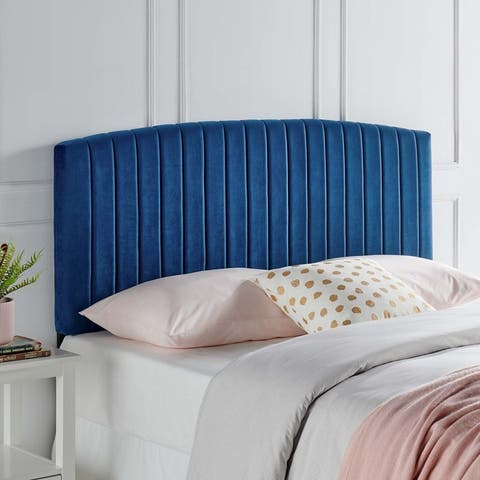 Rebecca Performance Velvet Twin Headboard