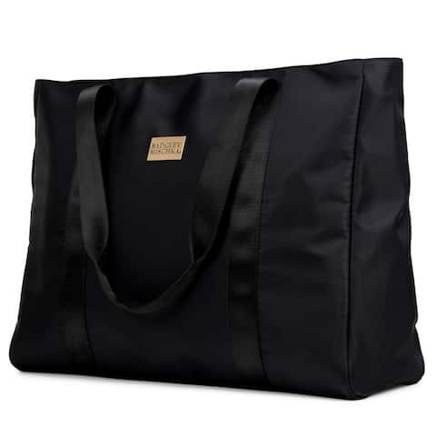BADGLEY MISCHKA Nylon Travel Tote Weekender Bag - Packable Travel Bag