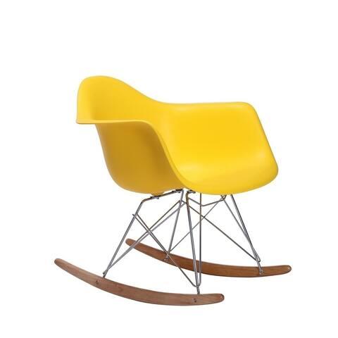 Rocker Kids Chair with durable metal/wood legs