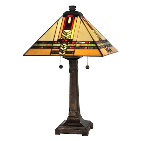 Palo Tiffany Mission Table Lamp