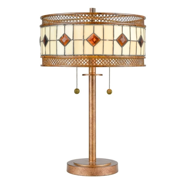 Minerals Tiffany Table Lamp. Opens flyout.