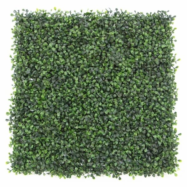20 x 20-inch Artificial Plant Hedge Mat Screen (Set of 12). Opens flyout.