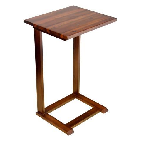 Porch & Den Holly Hill Solid Acacia Sofa C Table