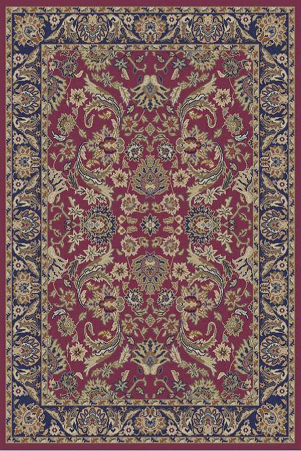 Sultanabad Red Rug (5'3 x 7'3) - Thumbnail 1