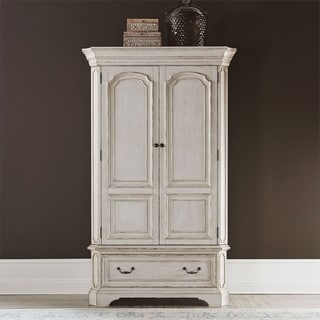 Abbey Road Procelain White Armoire