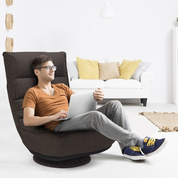 360 Degree Swivel Sofa 4-Position Adjustable Recliner