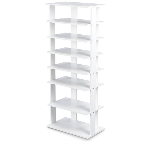 7-Tier Shoe Rack Storage Chest Organizer Free Standing Shelves. Opens flyout.
