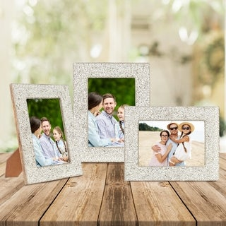 Decoriny,Picture Frames, Simple Designed Photo Frame Made of Solid
