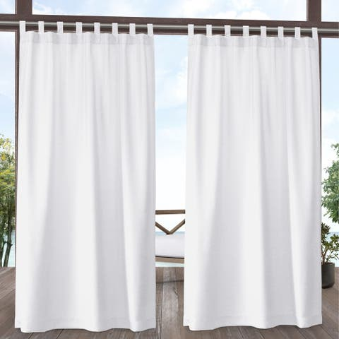 Sarmi Indoor/Outdoor Tab Top Panel Pair by Havenside Home
