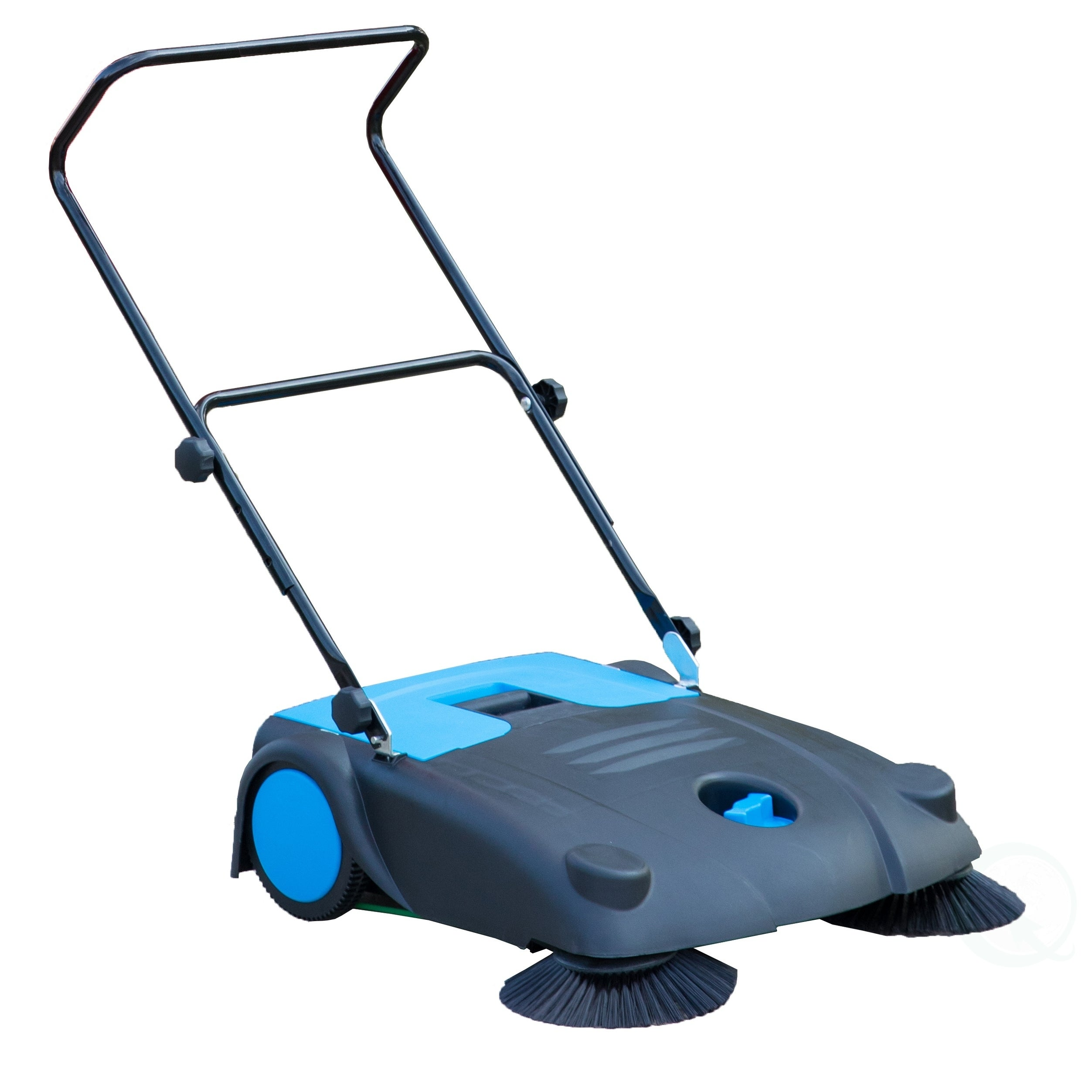 Manual Floor Sweeper With Side Brooms