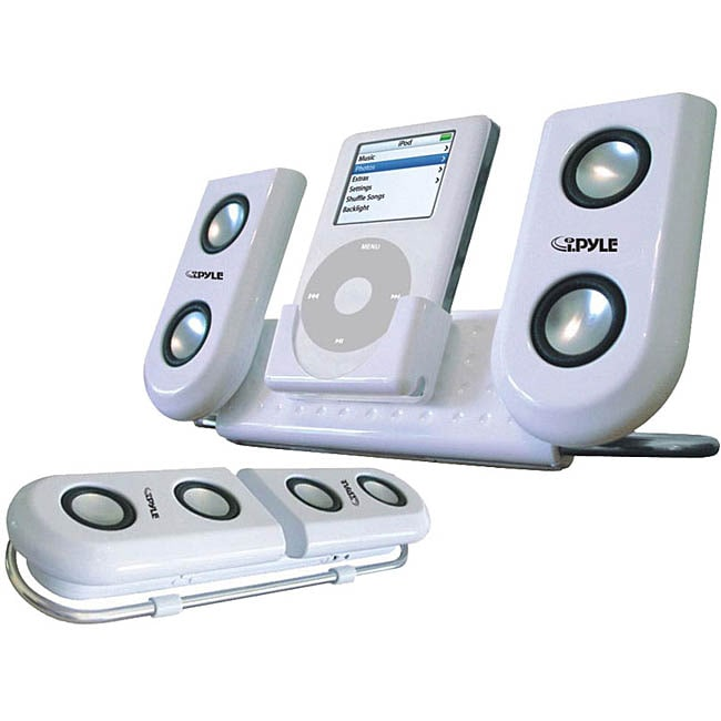 PylePro Portable Speaker System for iPod