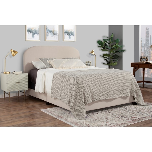 Copper Grove Chambeshi Rounded Modern Bed. Opens flyout.