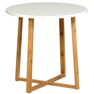 Solid Bamboo Frame Side Table