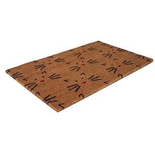 Love Cats Coir Doormat