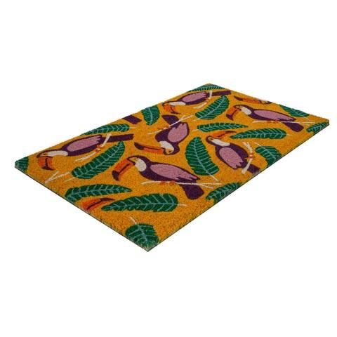 Toucans Coir Doormat
