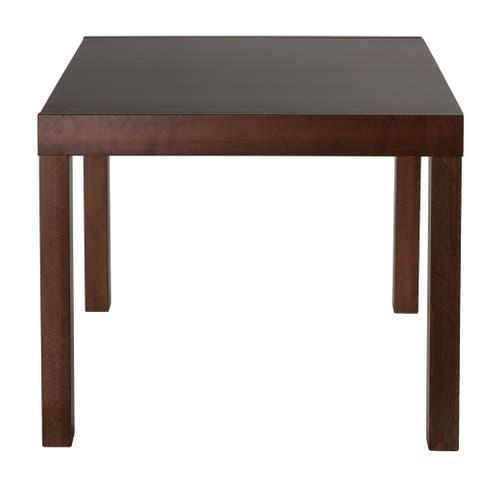 Cortesi Home Anderson Expanding Dining Table in Walnut Finish - N/A