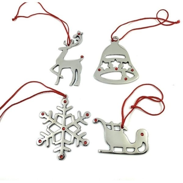 VIBHSA Christmas Ornaments Set of 8. Opens flyout.