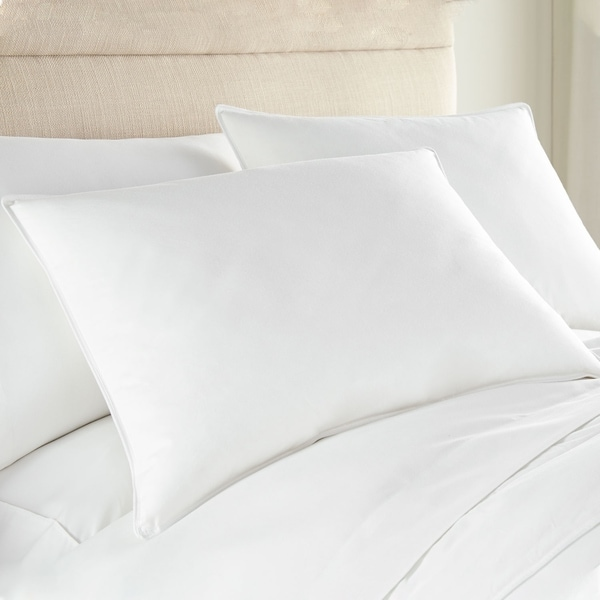 Hotel 230 TC 25/75 White Duck Down & Feather Blend Hotel Pillow. Opens flyout.
