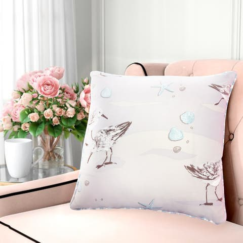 Harper Lane Sandpiper Throw Pillow