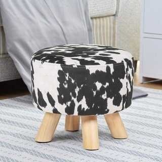 Link to Carbon Loft Negahban Simple Round Cylinder Pouf Ottoman Similar Items in Kids' Ottomans & Gliders