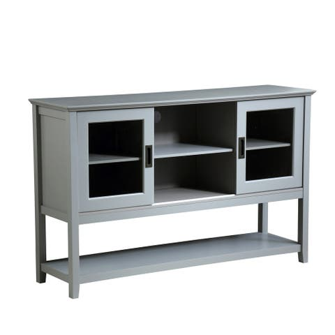 Sideboard Buffet Cabinet Wood Console