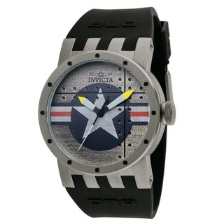 Link to Invicta Men's 11649 'DNA' Black Polyurethane Watch Similar Items in Men's Watches