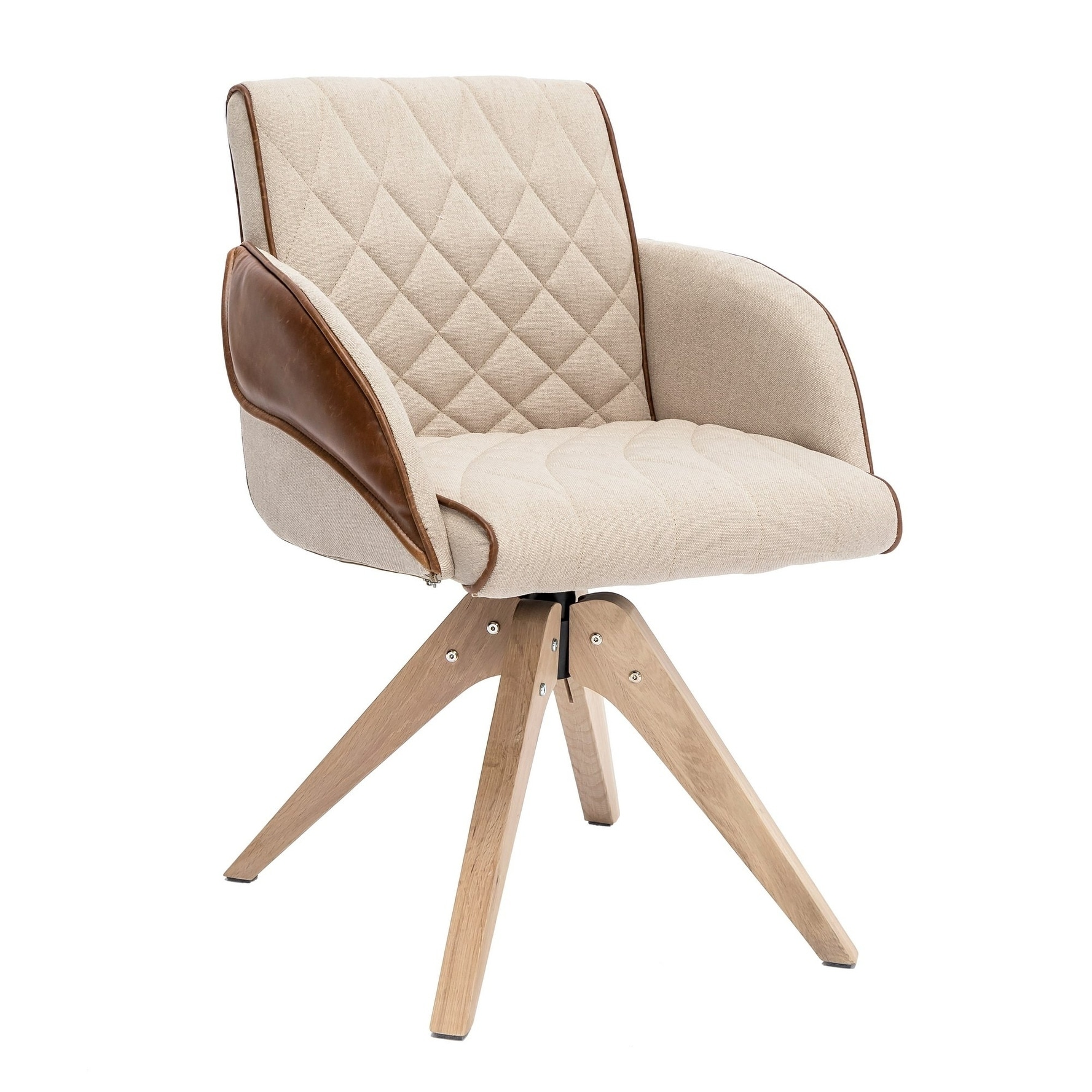 Picture of: Shop Black Friday Deals On Swivel Accent Chair Beige Overstock 30566973