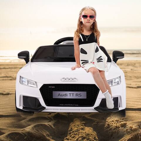 Audi 12V Kids Ride on Battery Powered Electric Car With Remote Control
