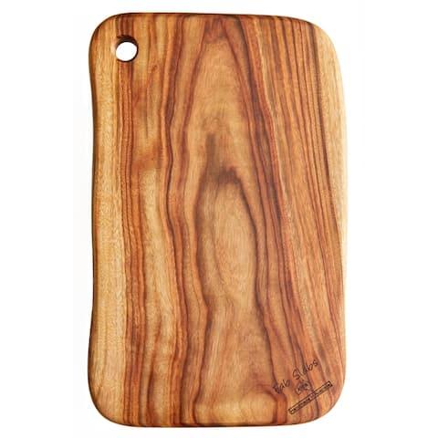 "FabSlabs Natural Wood Camphor Laurel Large Premium Hygienic Cutting Board, 18.9"" x 10.63"""