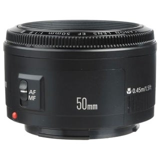 Canon EF 50mm f/1.8 II Standard & Medium Telephoto Lens