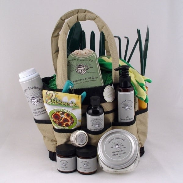 Gardener's Tote Gift Set by Naturally Pampered